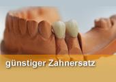 Hier erhalten Sie Informationen zum Thema günstiger Zahnersatz, preiswerter und billiger Zahnersatz in Bad Griesbach, sowie in Pocking, Bad Birnbach, Bad Füssing, Ortenburg, Vilshofen und Rotthalmünster. Was darf Zahnersatz kosten? Zahnersatz zum Nulltarif, gibt es das? Wie kann ich beim Zahnersatz sparen? Zahnersatz aus dem Ausland?