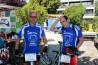 Werner Engel und Dr. Josef Leebmann vor dem Start (Foto: Ostermaier)